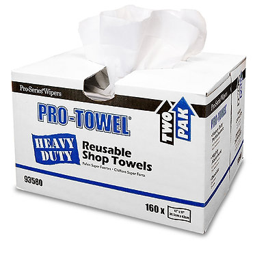 "MDI Pro-Towel, Heavy Duty Shop Towel, 12""x17"", Two Pak� - 160 towels"