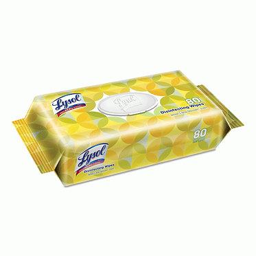 Lysol Disinfectant Wipe 80 ct