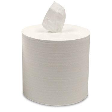 MDI 61102 Jumbo Lite Tissue Paper, White 2-Ply, 9x13, 800 wipes/roll