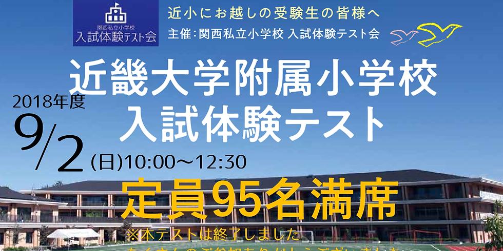 近畿大学附属小学校入試体験テスト