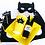 Kit de fiesta infantil tema superhéroes