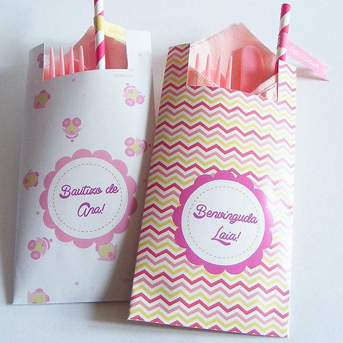 Bolsa de papel para cubiertos