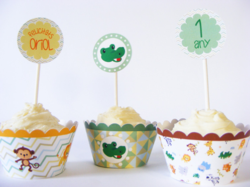 Wrappers y toppers personalizables