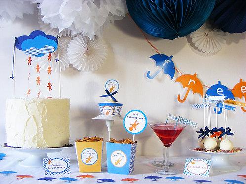 Kit de fiesta tema divorcio party