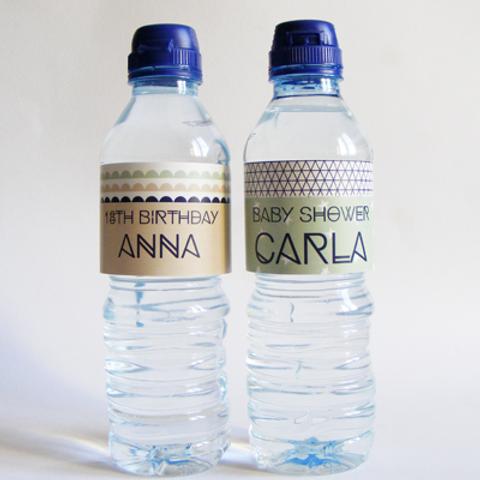 étiquette pour petite bouteille