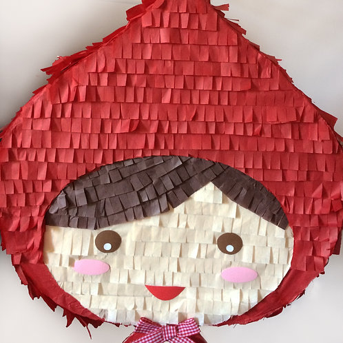 Piñata caperucita roja