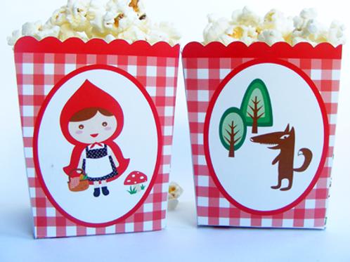 Popcorn caperucita roja
