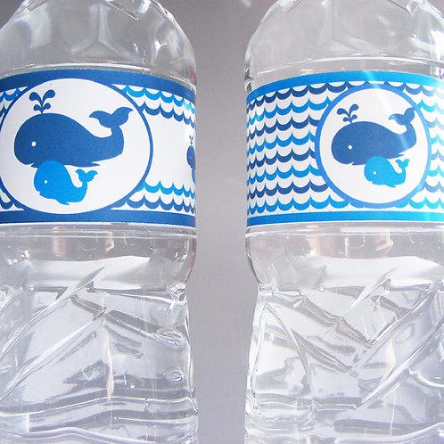 étiquette pour petite bouteille.