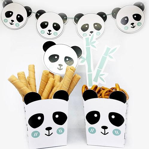 Fiesta oso panda