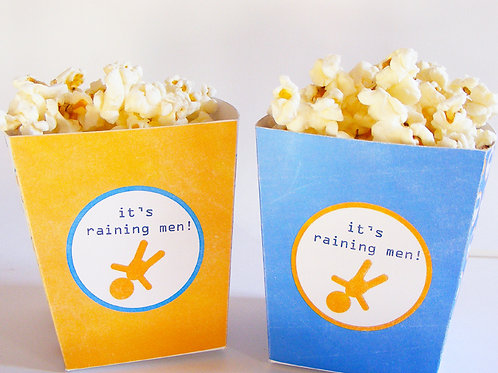 Boîte à popcorn pour vos snacks