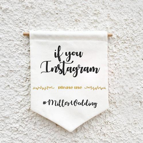 Banderola Instagram para bodas