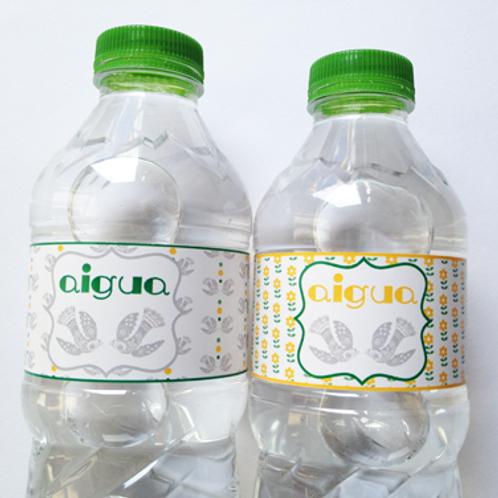 Etiquetas para botellitas