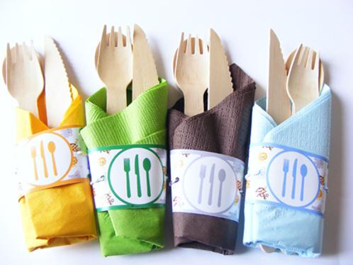 rond de serviette en papier