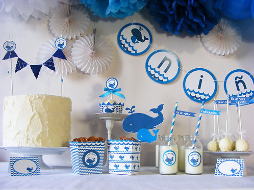 Kit fiesta baby shower