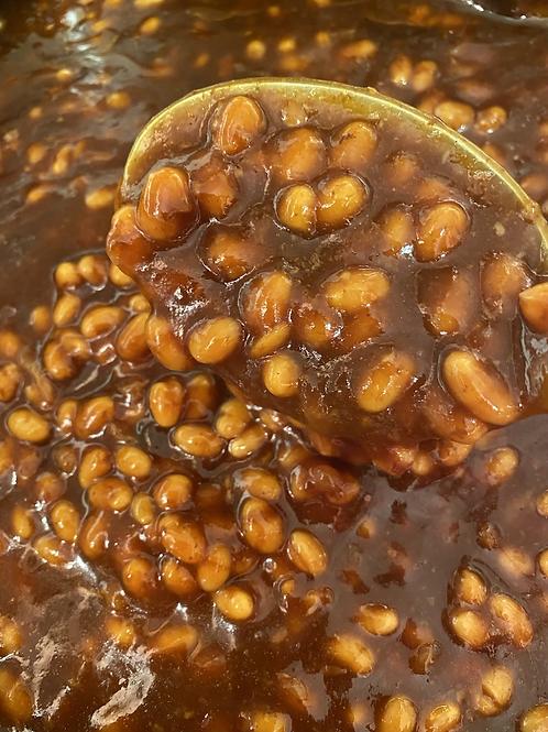 Bacon BBQ Bourbon Beans