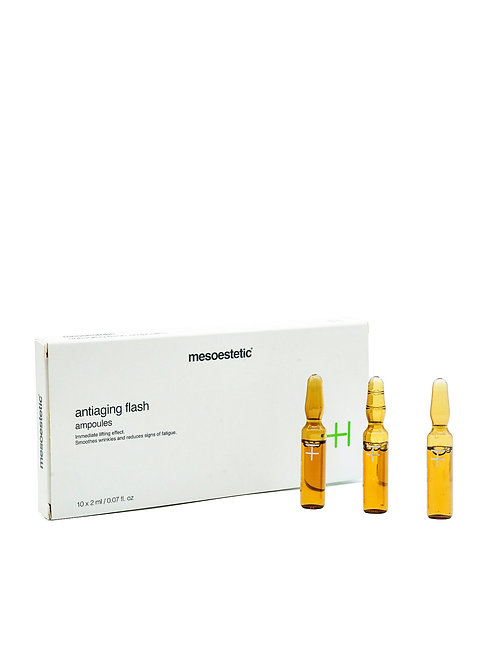 Mesoestetic Anti-aging Flash ampoules (Good for 10 weeks)