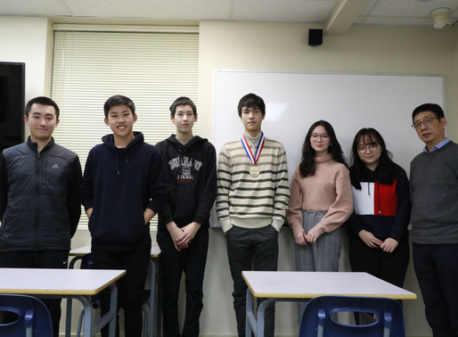 YES前学员、国际化学奥林匹克竞赛铜牌得主与骆博士及学生进行交流