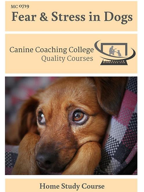 Fear & Stress in Dogs