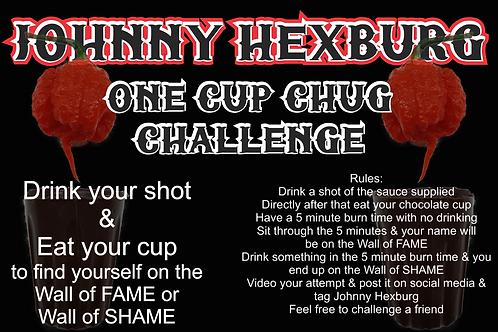 One Cup Chug Challenge