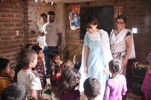 Preschool children in India