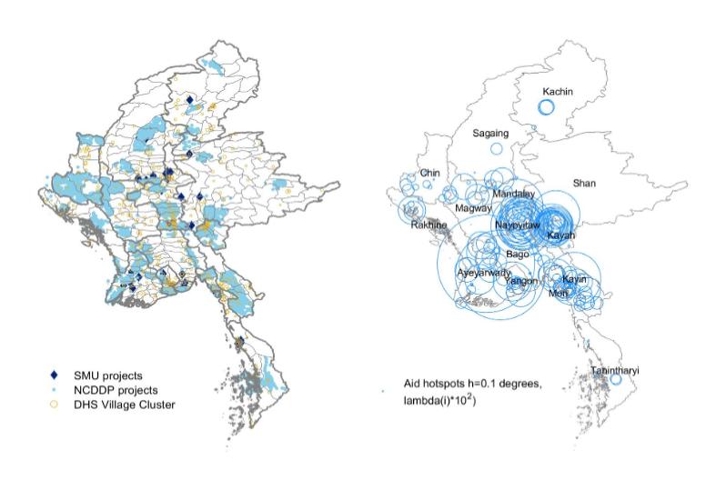 Spatial Analysis in Myanmar