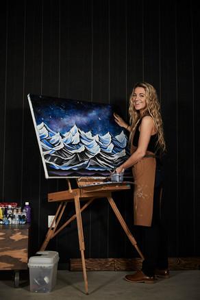 Artist in Residence Mimi Kvinge