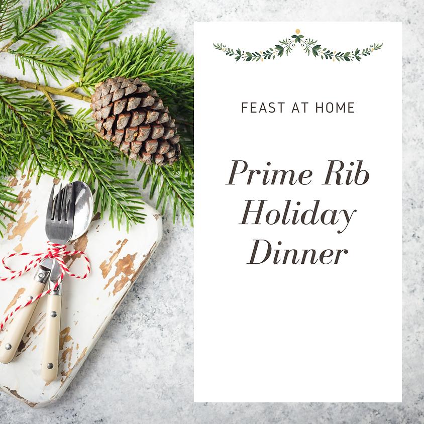 Prime Rib Holiday Dinner