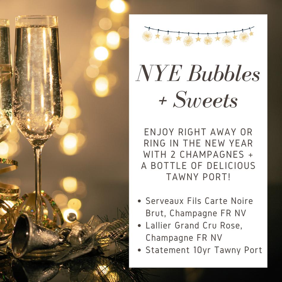 NYE Bubbles & Sweets