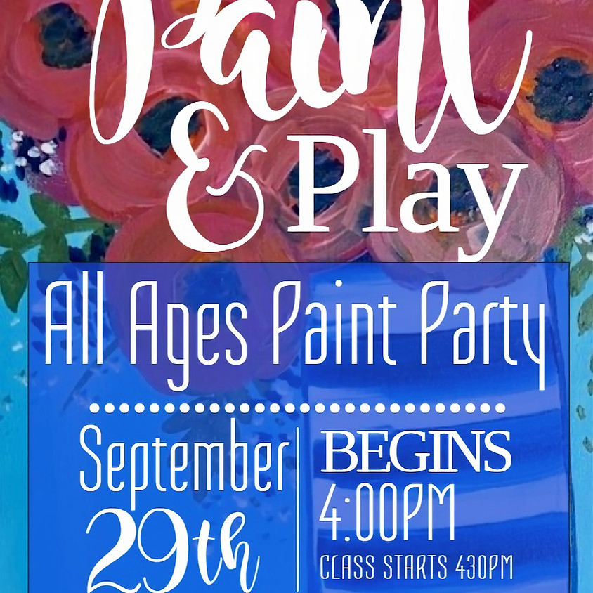 All Ages Paint Party