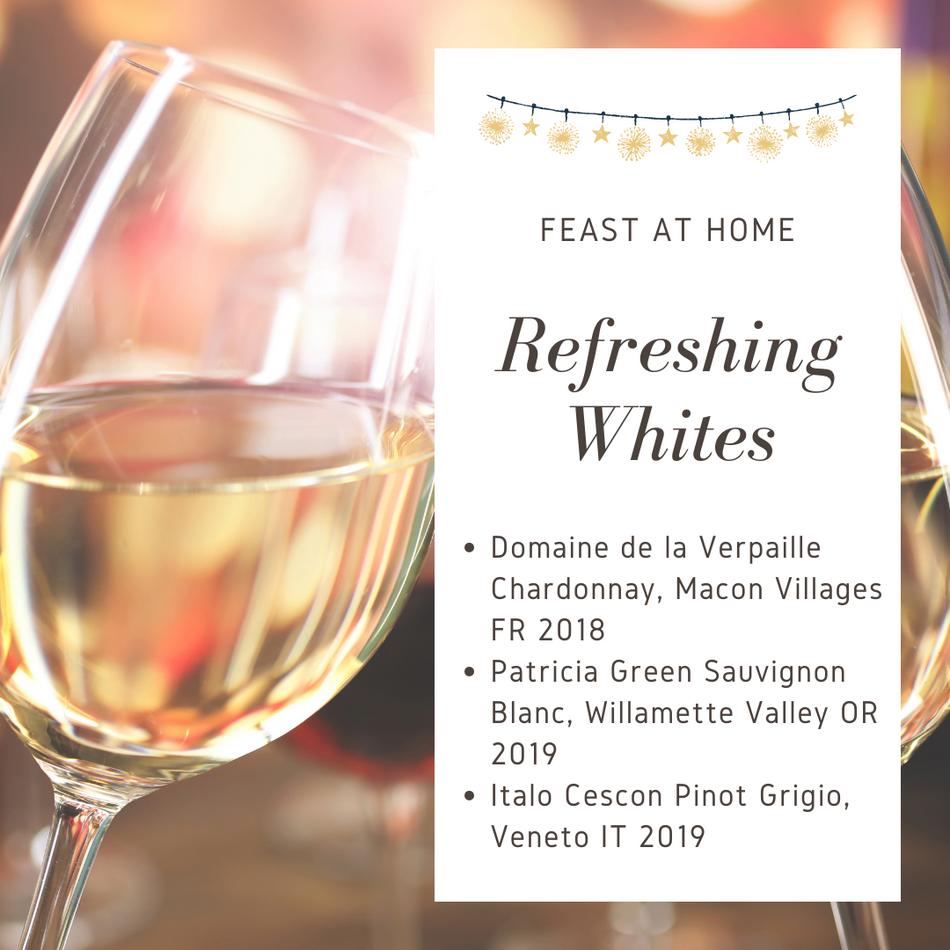 Refreshing Whites