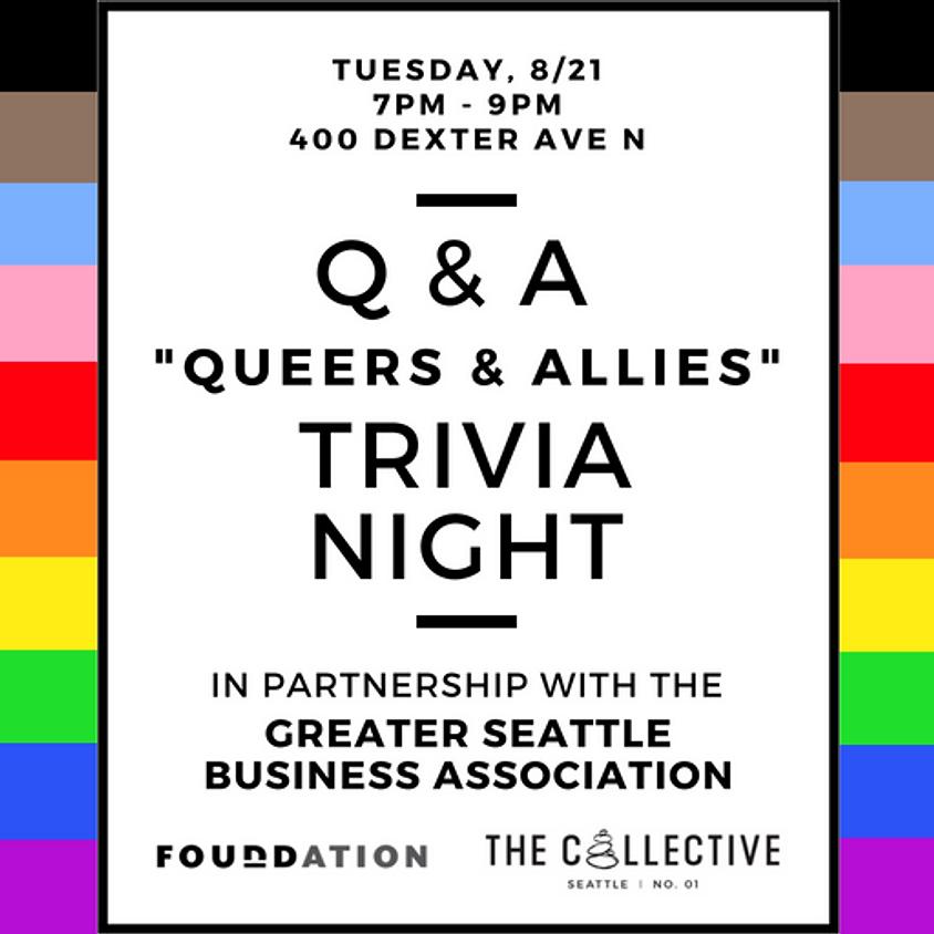 Q&A Queer + Allies Trivia Night