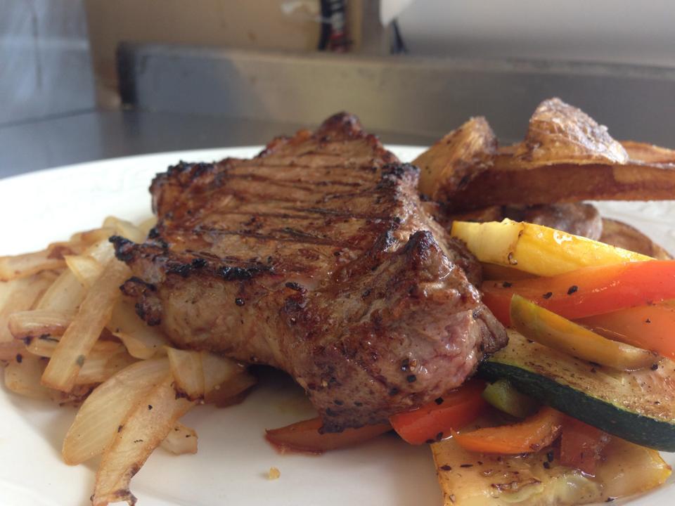 NY Shell Steak Dinner