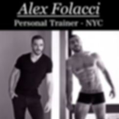 Alex Folacci, the best Personal Trainer in NYC