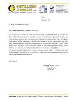 Palesa - Non GMO - Tartar acid