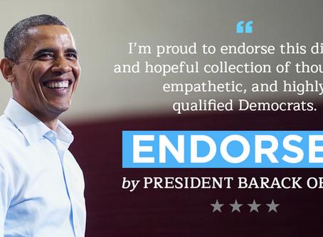 President Obama endorses my bid for the Ohio House...