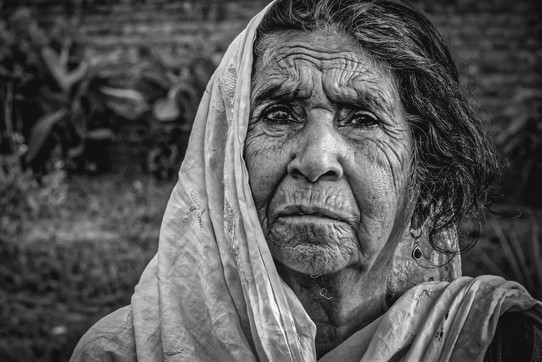 A Century old lady