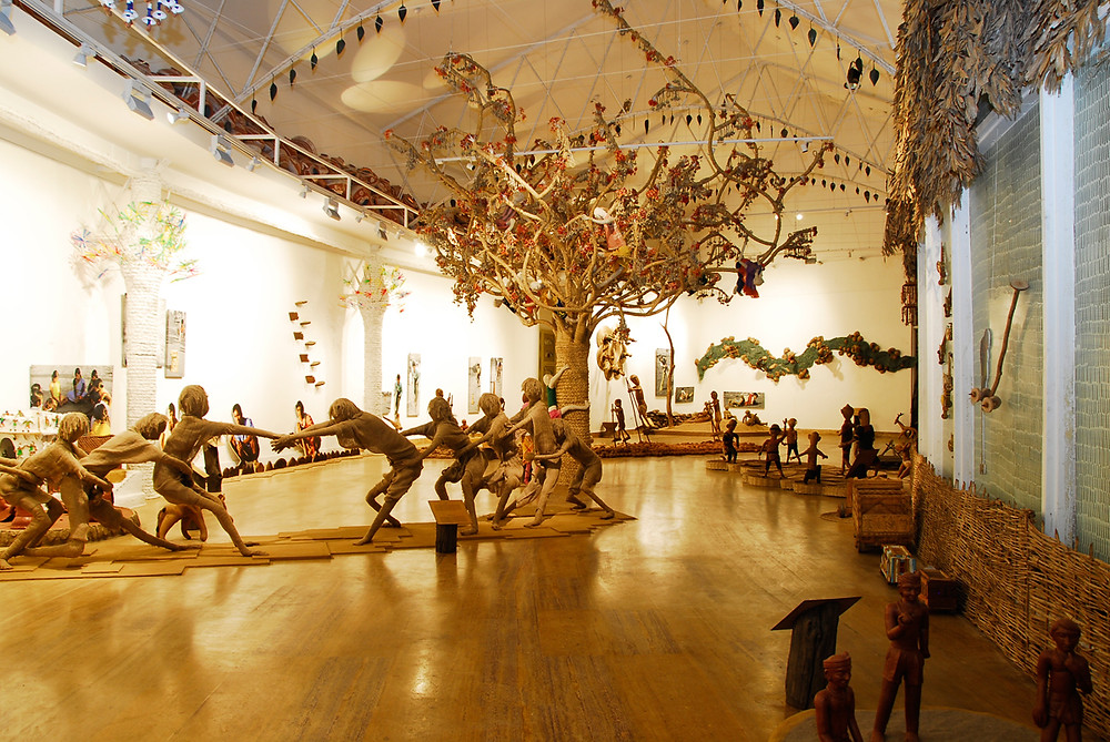 Madhya Pradesh Tribal Museum is a must see place in Bhopal | The Museum portrays the art culture and history of Tribes of Madhya Pradesh