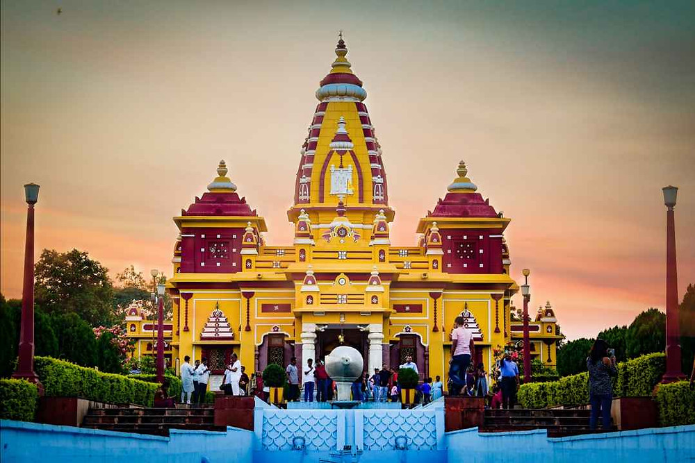 Lakshmi Narayan Temple or Birla Mandir known for its beautiful architecture is one of the most famous places in Bhopal