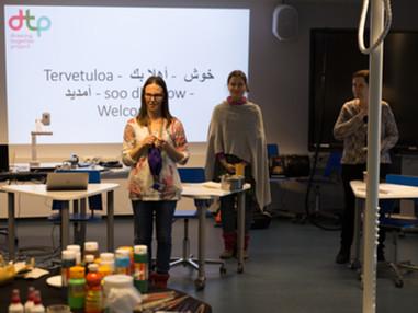 Finland Team's first workshop