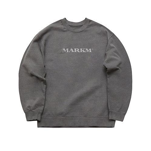 [MARKM] Bold Logo Pigment Sweatshirts / 2 Colors (A0019)