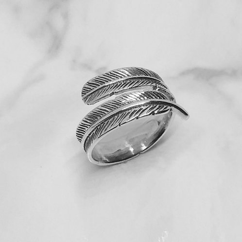 [ONEENOUGH] Feather of Angel Ring (J0003)