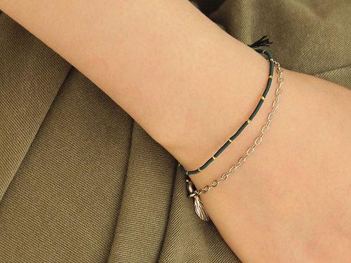 "CCNMADE Bracelet ""Silver Dragon"" (J0013)"