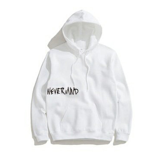 [Pre-order] NEVERMIND Hoodies Limited Edition (White Black)