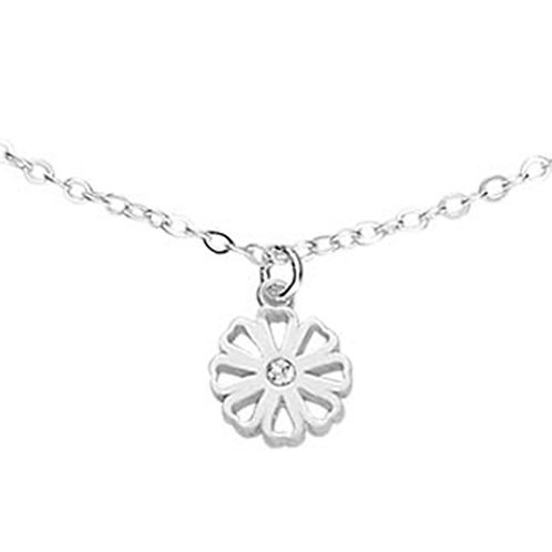 ANYHUMAN Silver Hope Cosmos Necklace (J0009)