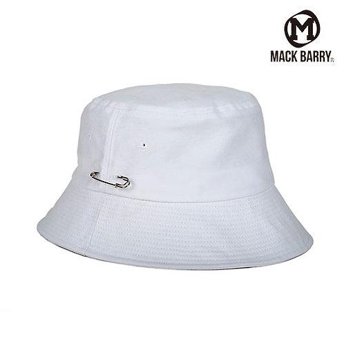[MACK BARRY] MCBRY BUCKET HAT WHITE Unisex (A0006)