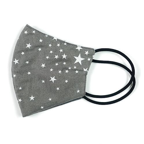 Cloth Mask - Star (Grey)(M0011)