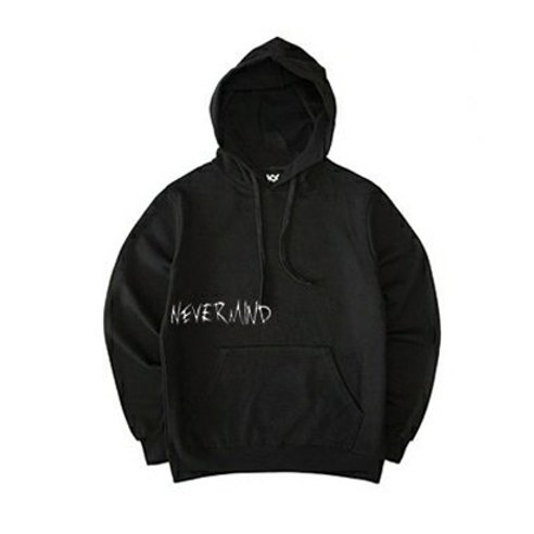 NEVERMIND Hoodies Limited Edition (Black White)