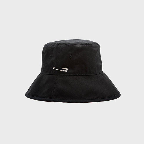 [MACK BARRY] MCBRY BUCKET HAT BLACK Unisex - Short, Long (A0007)