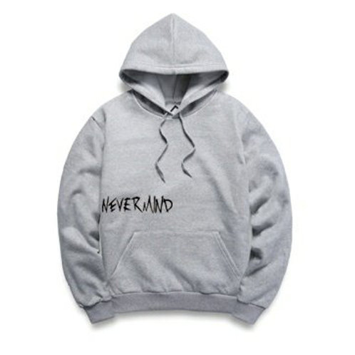 [Pre-order] NEVERMIND Hoodies Limited Edition (Grey Black)