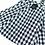 Thumbnail: 3D Cloth Mask - Plaid Check (Black)(M0003)
